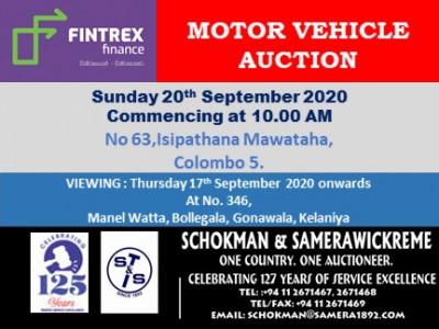 FINTREX FINANCE LTD SUNDAY 20TH SEPTEMBER 2020 (ISIPATHANA)